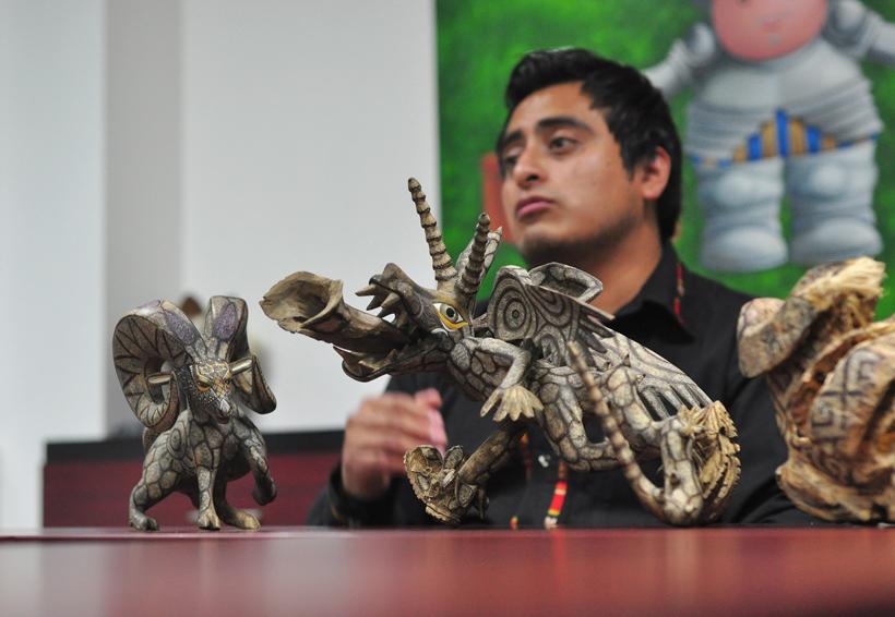 De la artesanía al arte; oaxaqueños apuestan a la innovación