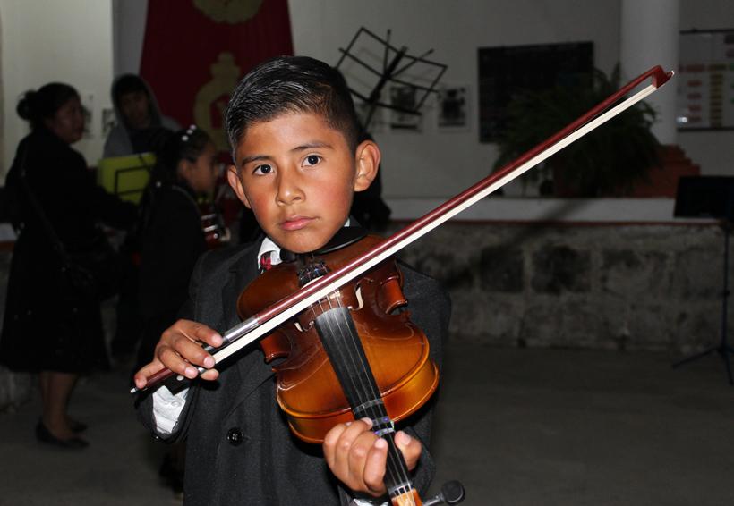 Mantienen proyecto musical de cámara en Tlaxiaco, Oaxaca