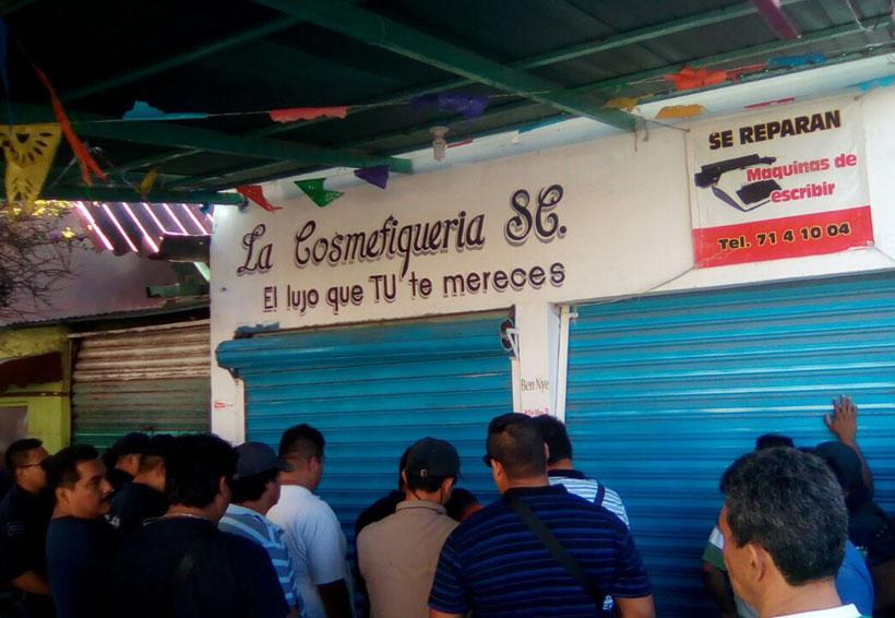 Conmoción por desalojo en Salina Cruz