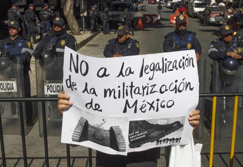 Senadores de oposición presentan acción de inconstitucionalidad contra la Ley de Seguridad Interior | El Imparcial de Oaxaca