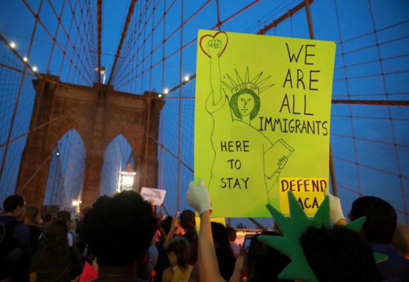 Trump pide solución migratoria para 'Dreamers' pero exige muro fronterizo | El Imparcial de Oaxaca