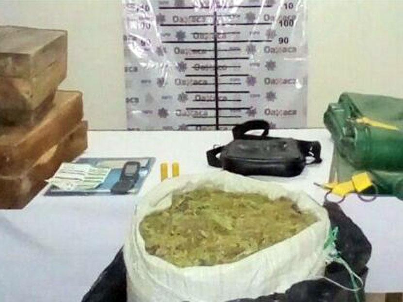 Decomisan 20 kilos de mariguana en Sola de Vega, Oaxaca | El Imparcial de Oaxaca