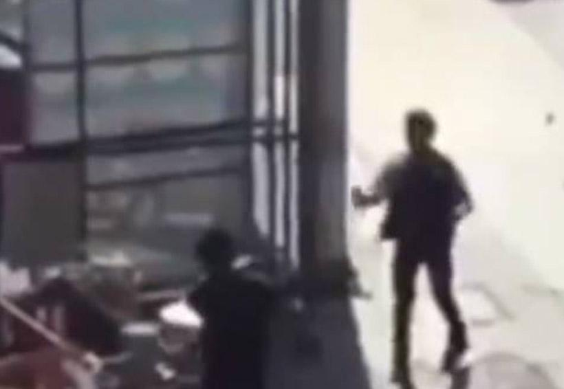 Video: Tamaleros pelean y se arrojan atole | El Imparcial de Oaxaca