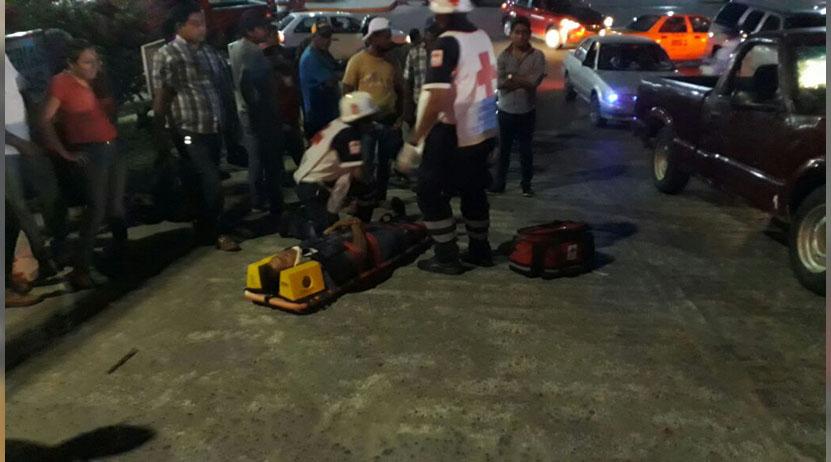 Atropellan a motociclista | El Imparcial de Oaxaca