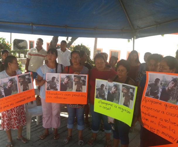 Denuncian falta de apoyo para buscar a pescadores extraviados en la costa de Oaxaca