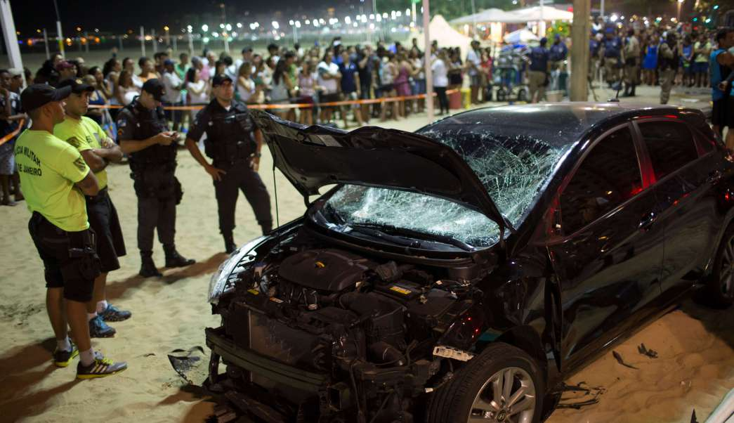 Sufrió ataque epiléptico el conductor que atropelló a 17 personas en Brasil | El Imparcial de Oaxaca