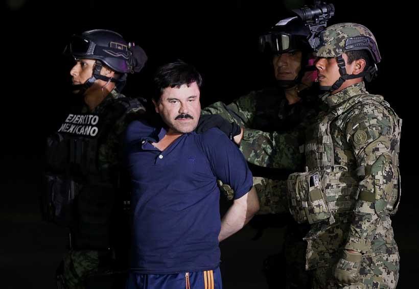 Posponen para febrero comparecencia de 'El Chapo' Guzmán en New York | El Imparcial de Oaxaca