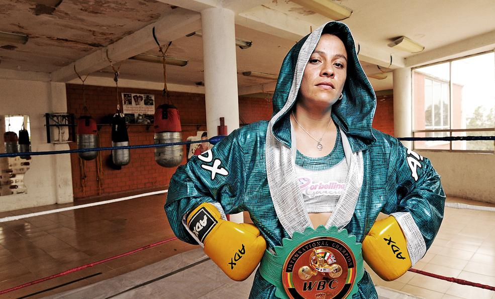 Irma García se prepara como 'torbellino' para ser campeona de CMB | El Imparcial de Oaxaca