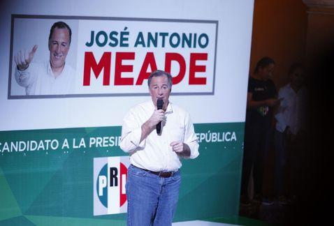 PRI cambiará el nombre de la coalición 'Meade Ciudadano por México'