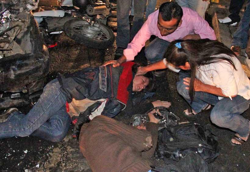 Sentencian a taxista por atropellar a motociclistas en Xoxo y huir | El Imparcial de Oaxaca