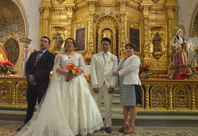 Óscar y Susana unen sus vidas