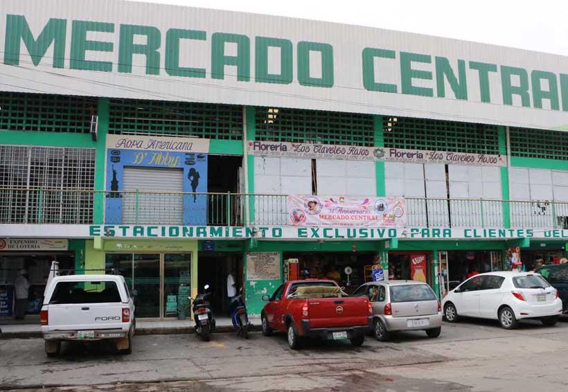 Rehabilitan mercado de Tuxtepec en Oaxaca por seguridad
