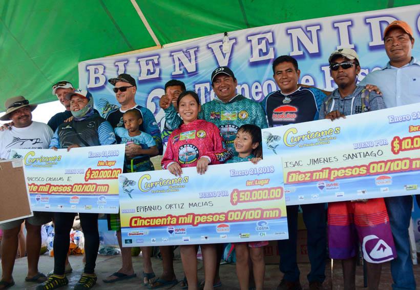 Atraparon al pez más pesado en Boca Vieja Huatulco