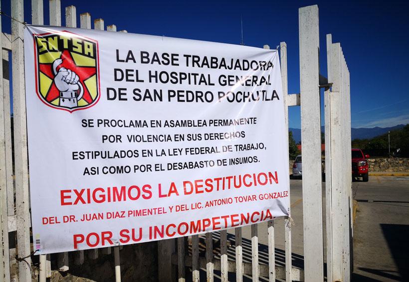"""""""Grave"""" el hospital de Pochutla por paro laboral   El Imparcial de Oaxaca"""