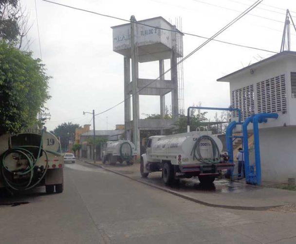 Sismo deja sin agua a los ciudadanos de Tuxtepec, Oaxaca