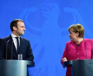 Macron y Merkel piden ayuda a Putin para tregua en Siria