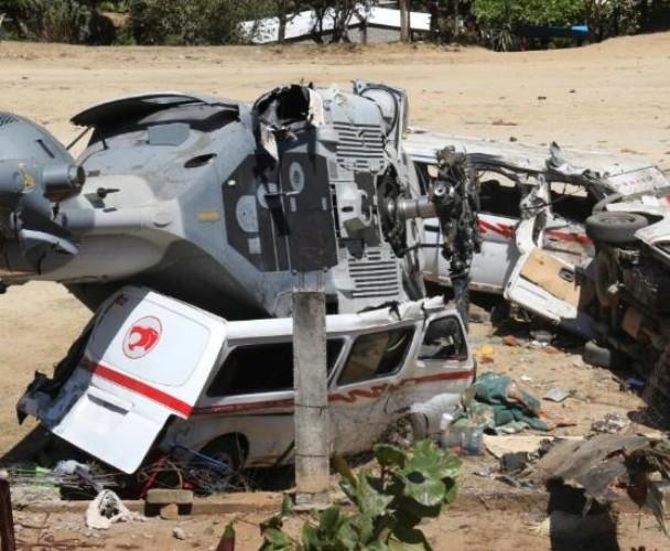 Investiga PGR helicopterazo en Jamiltepec, Oaxaca