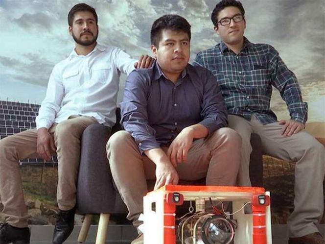 Robot para limpiar cisternas sin vaciarlas es creado por estudiantes de la UNAM | El Imparcial de Oaxaca