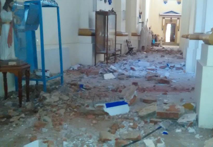 Continúan valoración de daños por sismo en la costa de Oaxaca