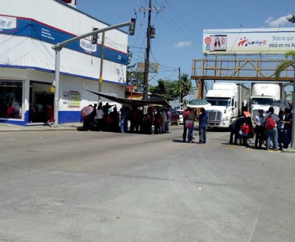 Afectan a Tuxtepec manifestaciones