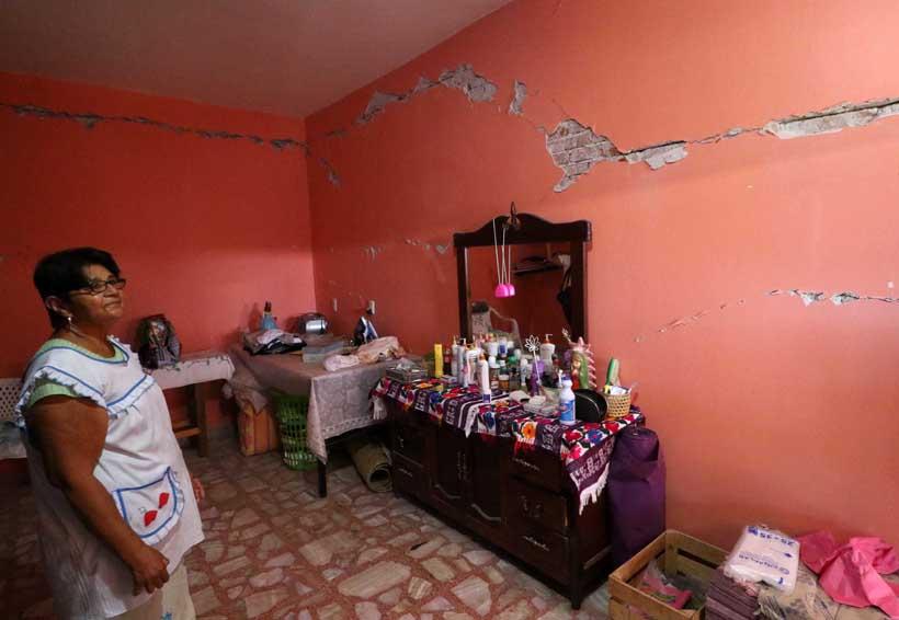 Huazolotitlán se quedó triste, pero comienza a levantarse tras 16-F