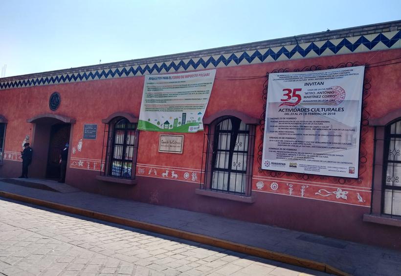Celebra 35 años la Casa de la Cultura de Huajuapan