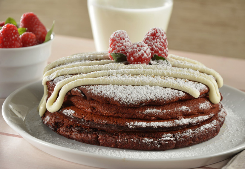 Hotcakes de red velvet | El Imparcial de Oaxaca