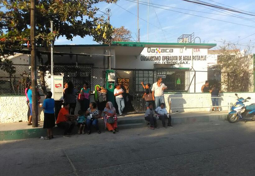 Demandan agua vecinos de Ciudad Ixtepec, Oaxaca | El Imparcial de Oaxaca
