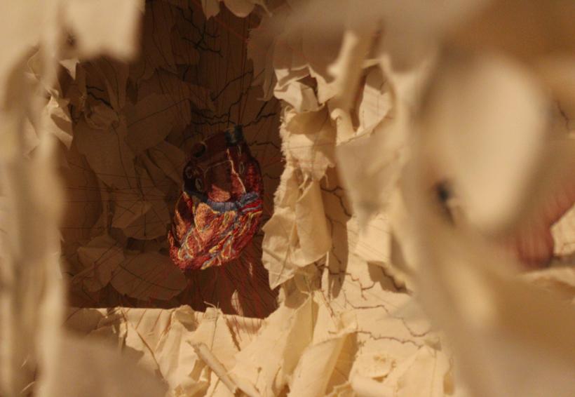 """En el Museo Textil propone Miriam Medrez  """"sacar la aguja y adentrarse"""""""