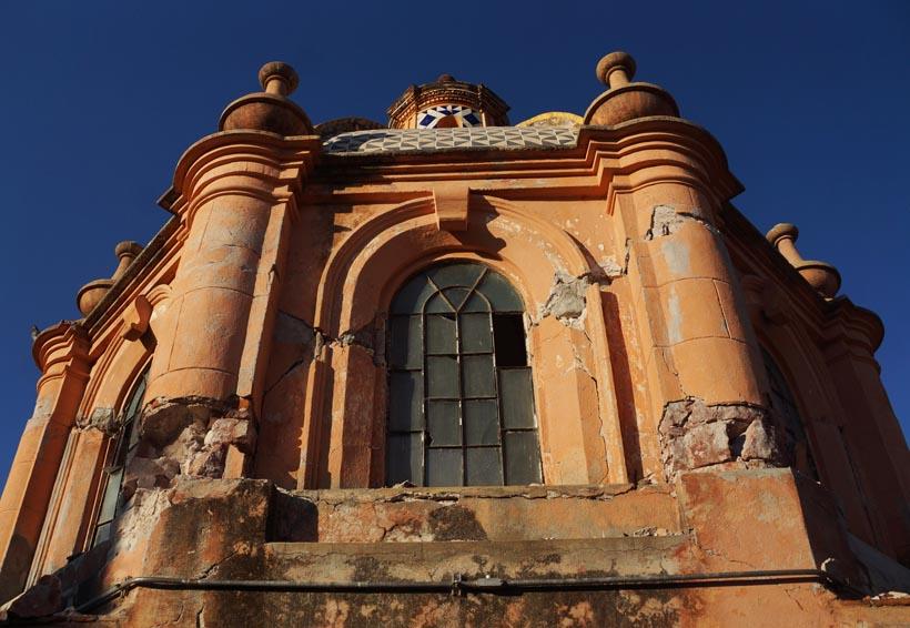 Inicia restauración del patrimonio afectado