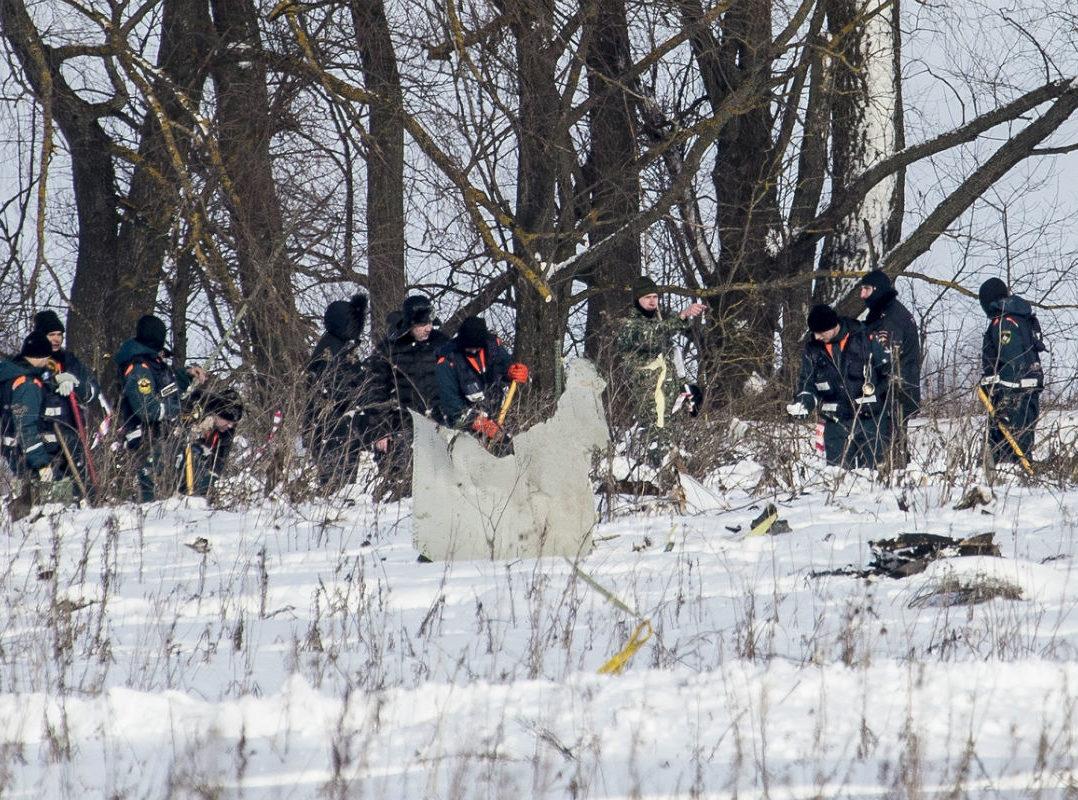 Buscan cuerpos de los 71 pasajeros de accidente en Rusia, nieve dificulta trabajo de rescate | El Imparcial de Oaxaca