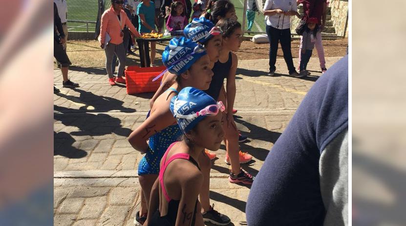 Realizaron con éxito el primer Acuatlón   El Imparcial de Oaxaca