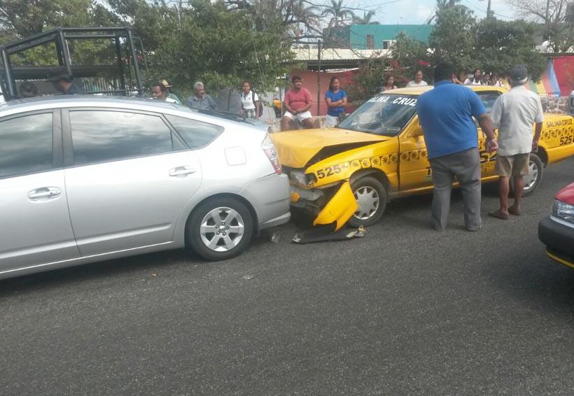 Carambola deja tres lesionados en Salina Cruz | El Imparcial de Oaxaca