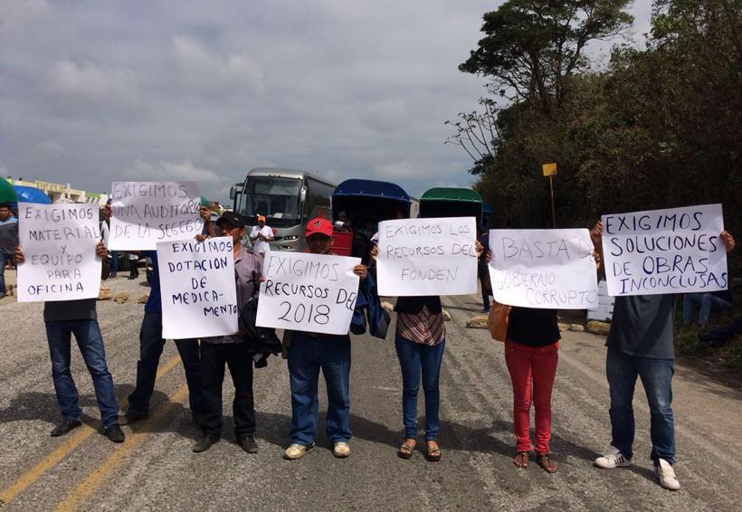 Agentes municipales de Matías  Romero exigen atención   El Imparcial de Oaxaca
