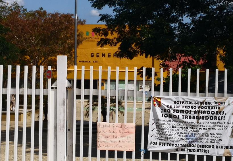 Agilizan plan de Protección  Civil en el hospital de Pochutla, Oaxaca