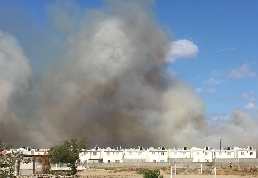 Aumentan incendios de pastizales en el Istmo de Oaxaca