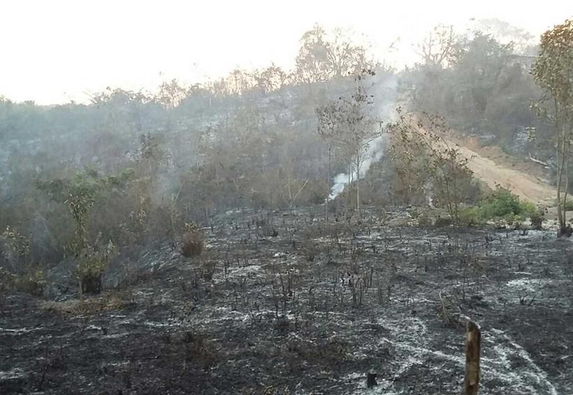 Bomberos de la Costa  al ataque de incendios forestales
