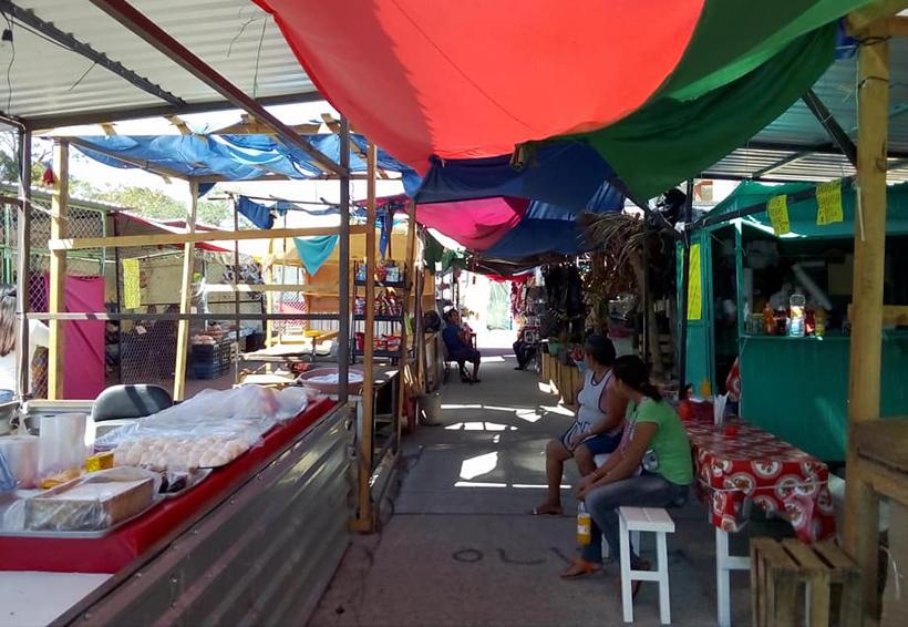Caen ventas debido a reubicación por sismo: comerciantes de Salina Cruz, Oaxaca | El Imparcial de Oaxaca