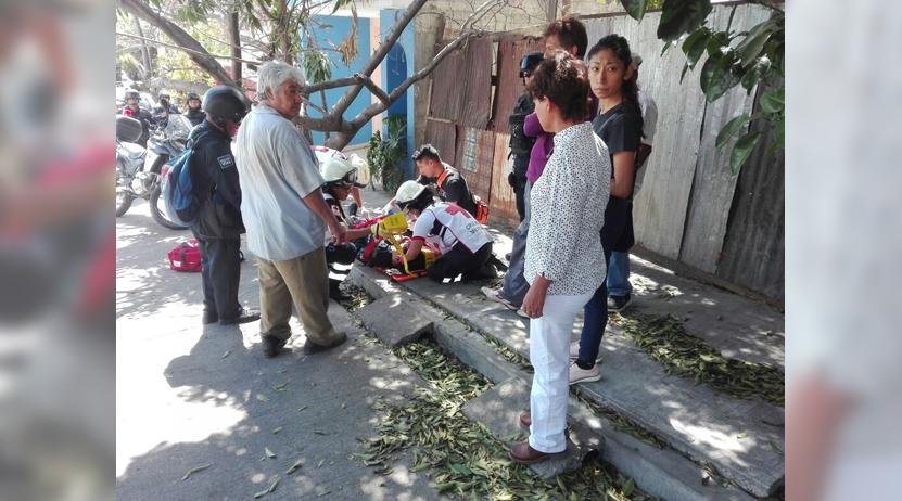 Atropellan a agente vial en la colonia Reforma, Oaxaca | El Imparcial de Oaxaca