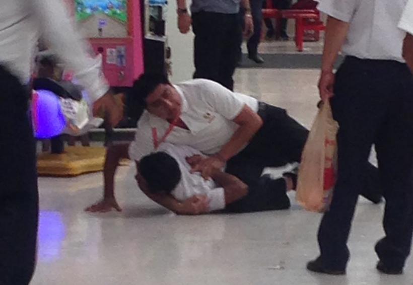 Detienen a presunto ladrón en centro comercial de avenida Universidad | El Imparcial de Oaxaca