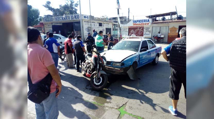 Foráneo arrolla a motociclista en la carretera al Rosario, Oaxaca | El Imparcial de Oaxaca