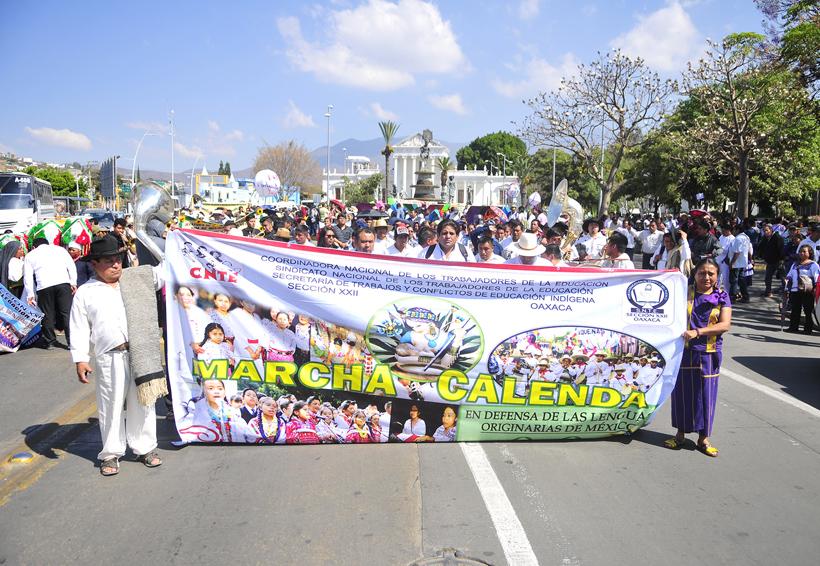 En Oaxaca realiza Sección 22  ayuno y calenda