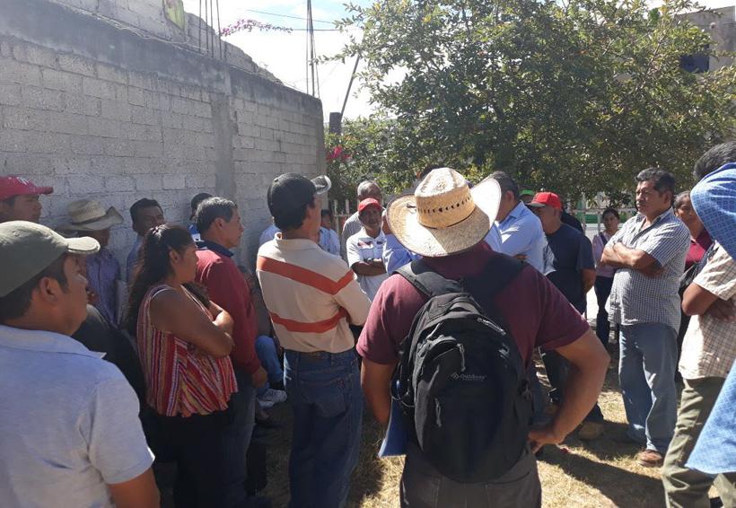 Exigen solución de  conflicto agrario en la Mixteca de Oaxaca