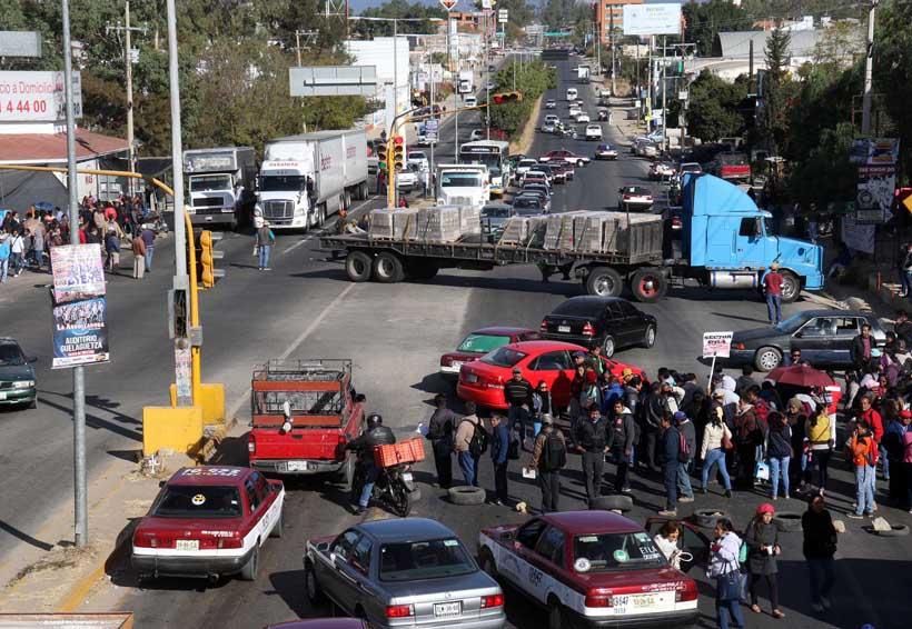 Cierra Sección 22 cruceros de Oaxaca | El Imparcial de Oaxaca