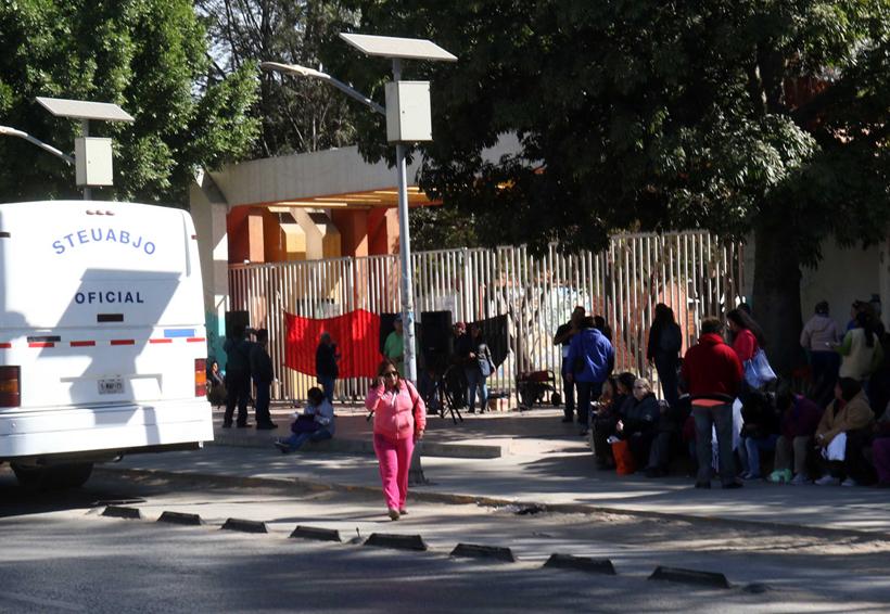 Cierra STEUABJO rectoría; pide reubicar al personal | El Imparcial de Oaxaca