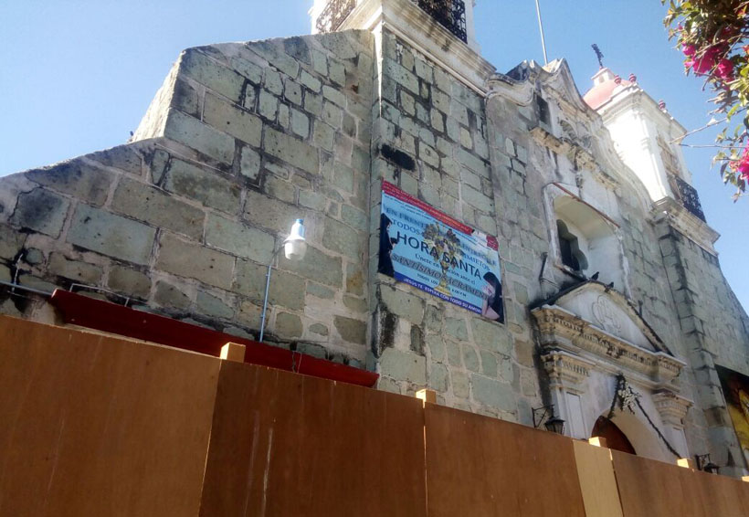 Inician actividades  religiosas en templos  de Oaxaca