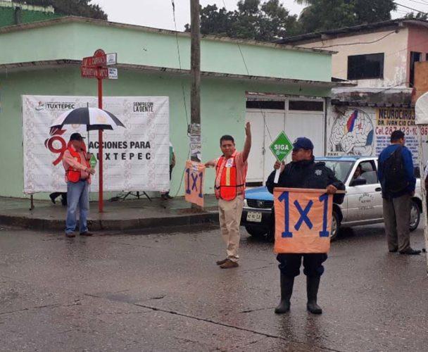 Iniciativa del 1×1 en los cruceros de Tuxtepec, Oaxaca