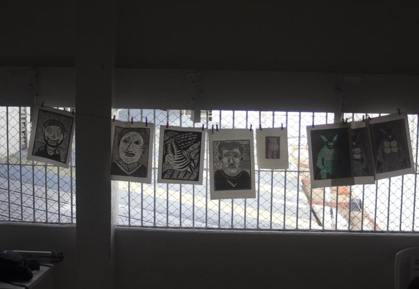 Taller de Gráfica Siqueiros, la creatividad en la cárcel | El Imparcial de Oaxaca