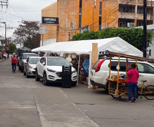 Locatarios del Mercado Central  de Tuxtepec entregan llaves del inmueble