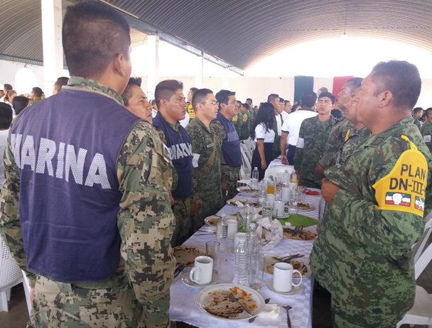 Ejército celebra 105 años en Jamiltepec, Oaxaca